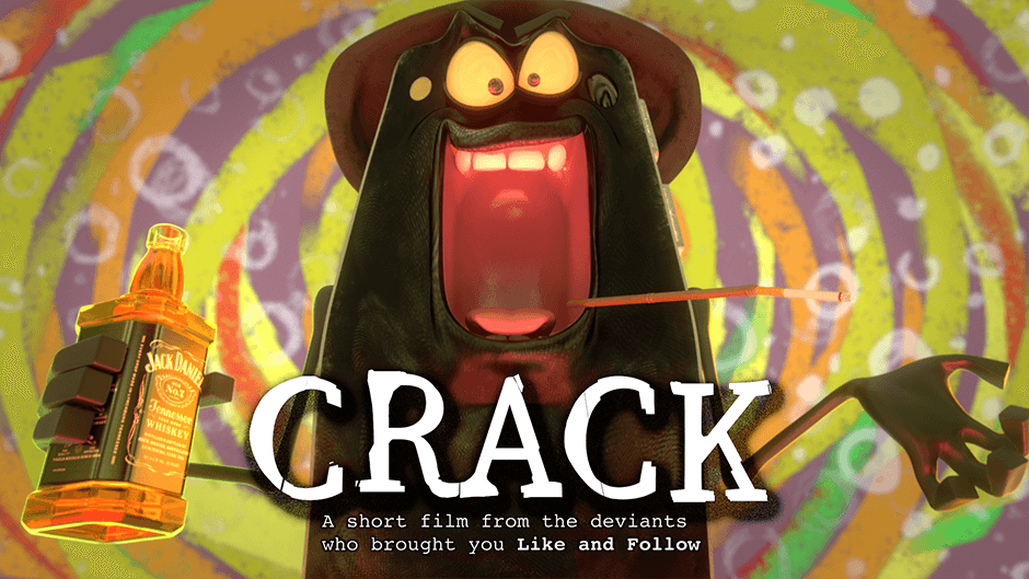 crack short film 3d smartphone addiction